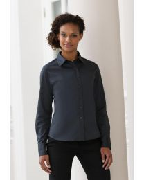 Blouses Russel Classic Twill Shirt LS dames